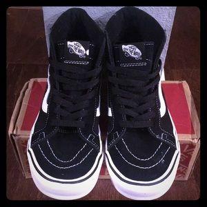 Vans Black High Top SK8- Hi Lite🔥Shoes 👟😍🤗